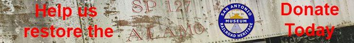 Banner: Help us restore the Alamo - Donate Today #Alamo127